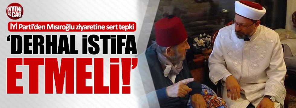 """İYİ Partili Cihan Paçacı: """"Diyanet işleri Başkanı derhal istifa etmelidir"""""""