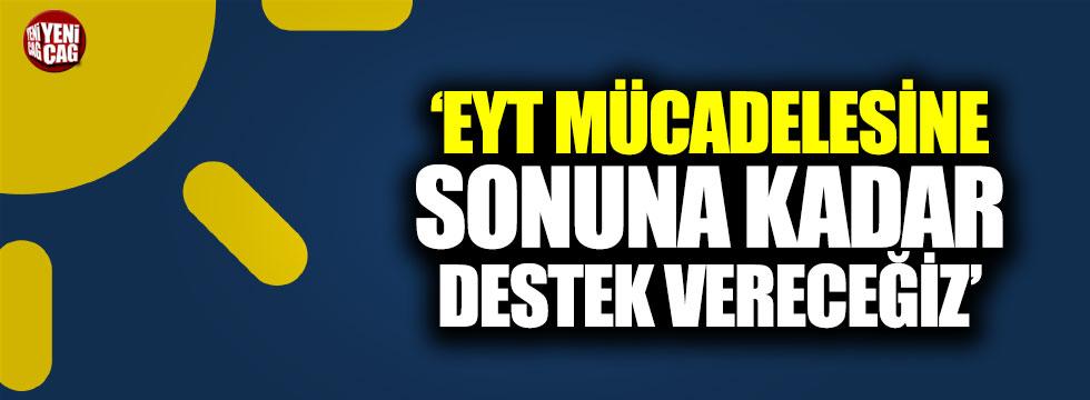 İYİ Parti: EYT mücadelesine sonuna kadar destek vereceğiz