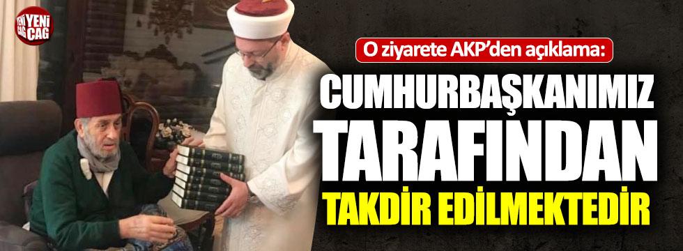 """AKP'den """"Mısıroğlu ziyareti"""" açıklaması"""