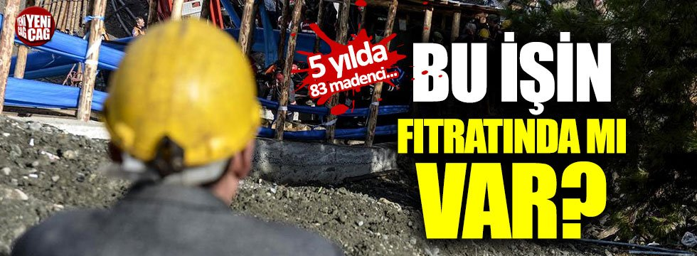 Zonguldak'ta madenciler ölümle burun buruna