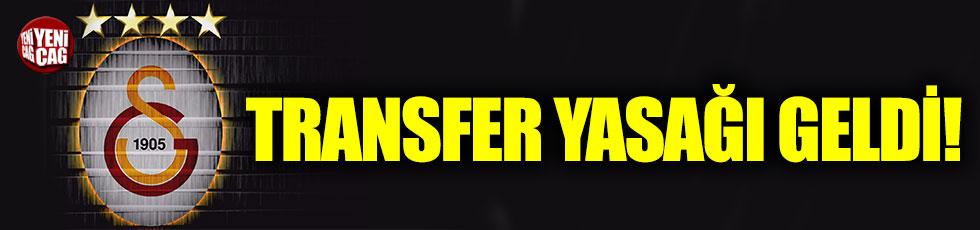 Galatasaray basketbol takımına transfer yasağı