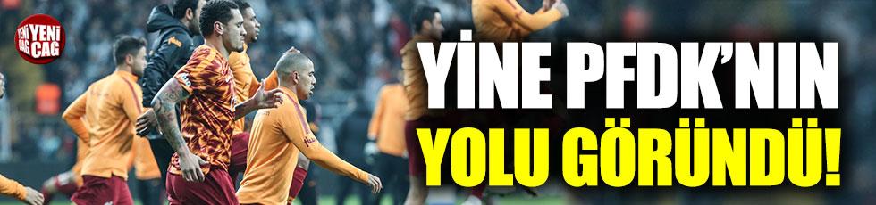 Galatasaray yine PFDK'ya sevk edilebilir
