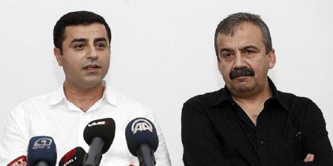 HDP'li Demirtaş ve Önder'in cezaları onandı