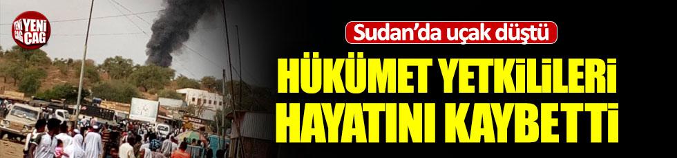 Son dakika: Sudan'da uçak kazası: 7 ölü