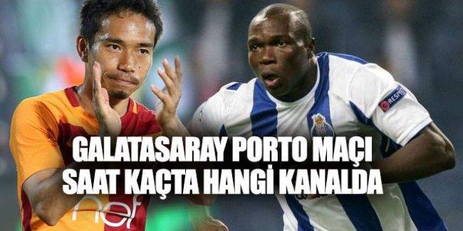 Galatasaray Porto maçı ne zaman, saat kaçta, hangi kanalda?