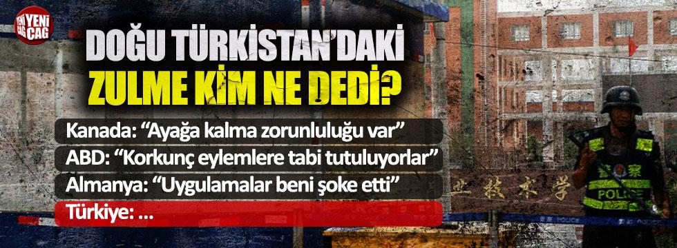 Uygur Türkleri için hangi ülke ne dedi, ne yaptı?