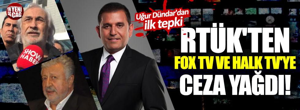 RTÜK'ten FOX TV ve Halk TV'ye ceza