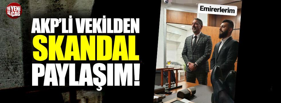 AKP'li vekil Kenan Sofuoğlu'ndan skandal paylaşım