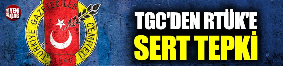 TCG'den RTÜK'e FOX TV ve Halk TV tepkisi