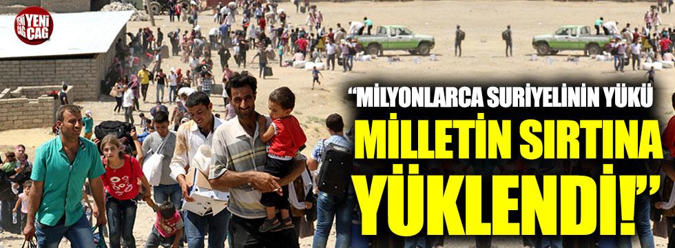 """İsmail Koncuk: """"Milyonlarca Suriyelinin yükü milletin sırtına yüklendi"""""""
