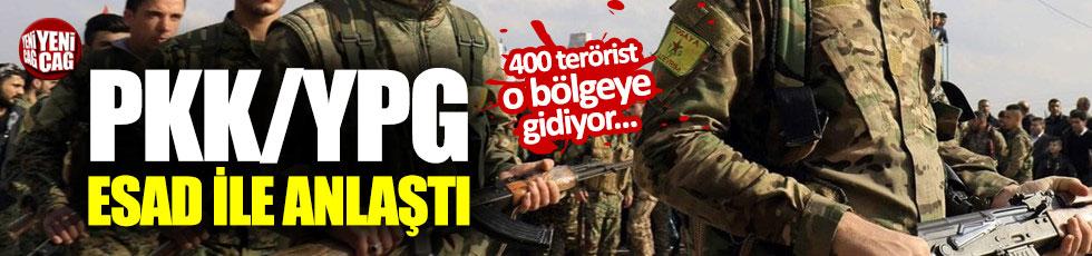 YPG Esad ile anlaştı: 400 terörist...