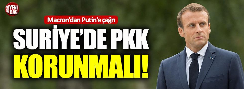 Fransa'dan Putin'e PKK çağrısı