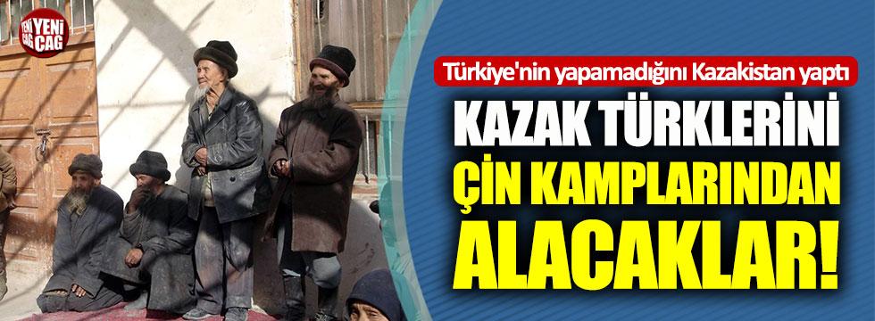 Kazak Türkleri Çin kamplarından alınıyor