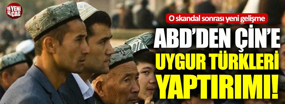 ABD'den Çin'e Uygur Türkleri yaptırımı