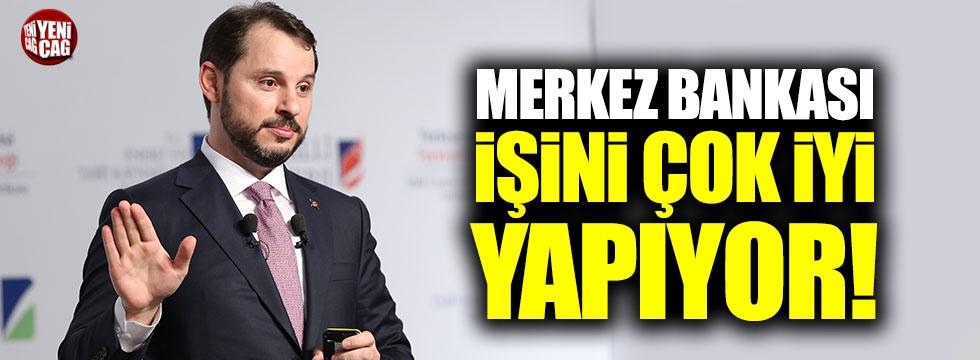 """Berat Albayrak: """"Merkez Bankası işini çok iyi yapıyor"""""""