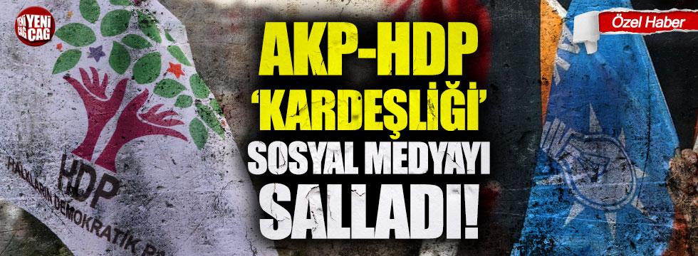 """AKP ve HDP """"kardeşliği"""" sosyal medyada gündem oldu"""