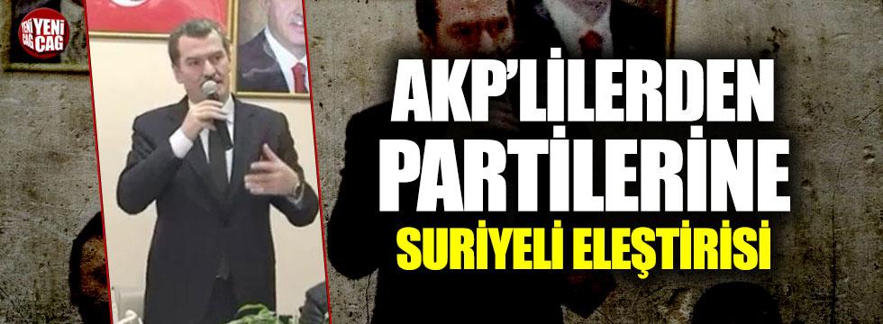 AKP'li aday, Erdoğan'ın Suriye tezini çürüttü