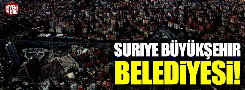 Suriye Büyükşehir Belediyesi!