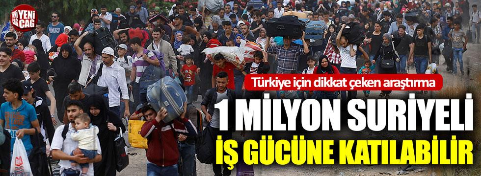 ILO'dan Türkiye araştırması: 1 milyon Suriyeli çalışabilecek durumda