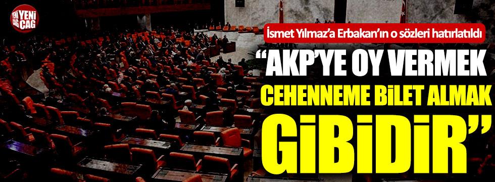 """Erbakan'ın o sözleri yine gündemde: """"AKP'ye oy vermek cehenneme bilet almak gibidir"""""""