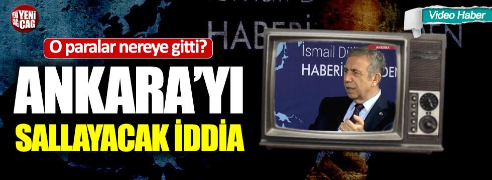 """Mansur Yavaş """"Hafriyat gelirleri Osmalıspor'a verildi"""""""
