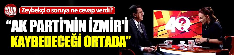 """Nihat Zeybekçi o soruya ne yanıt verdi: """"AK Parti'nin İzmir'i kaybedeceği ortada"""""""