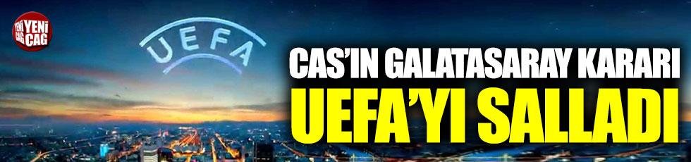 CAS'ın Galatasaray kararı UEFA'yı salladı