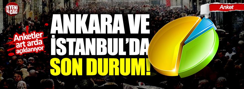 Son anket sonuçları açıklandı: İstanbul ve Ankara'da son durum ne?