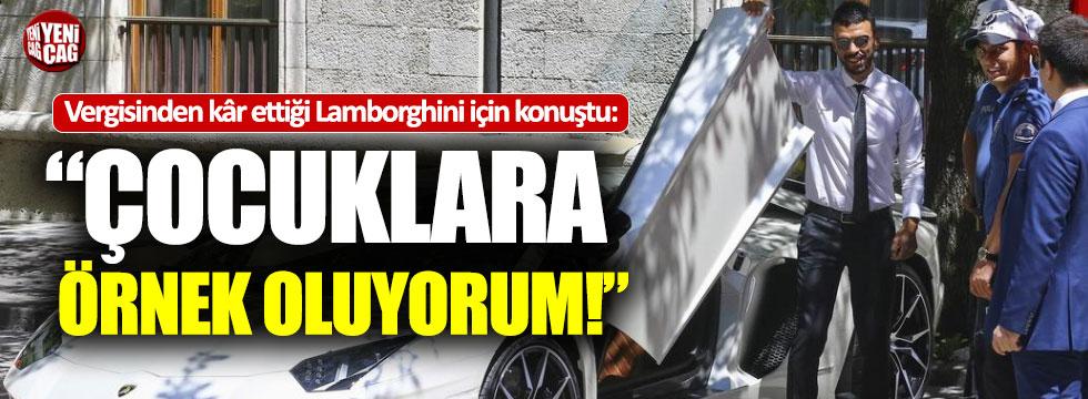 """AKP'li Sofuoğlu'ndan Lamborghini açıklaması: """"Çocuklara örnek oluyorum"""""""