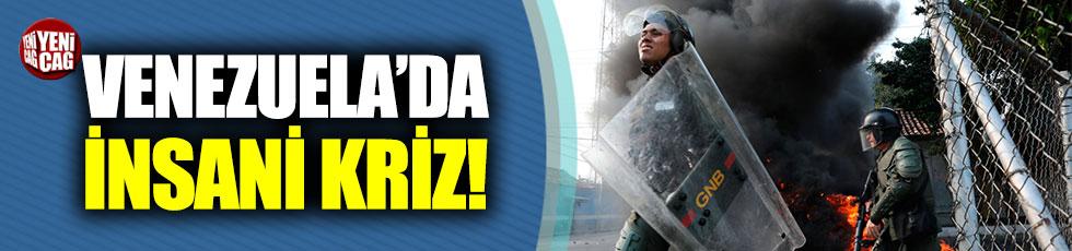 Venezuela'da ordu güçleri, muhaliflerin üzerine ateş açtı