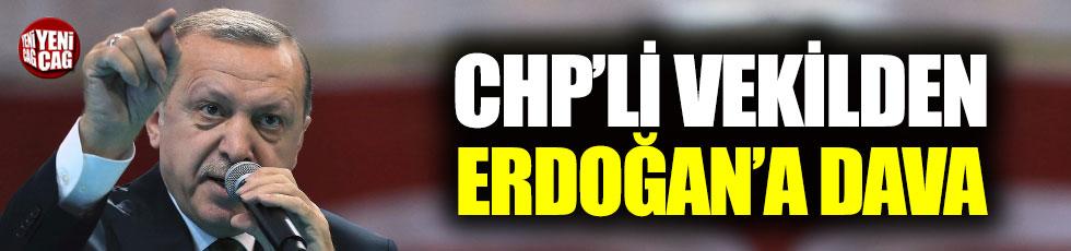 CHP'li vekilden Erdoğan'a tazminat davası