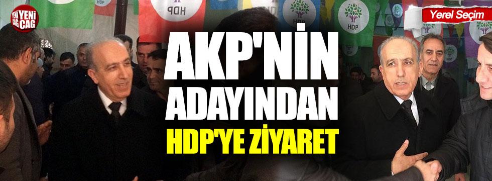 AKP'nin adayından HDP'ye ziyaret