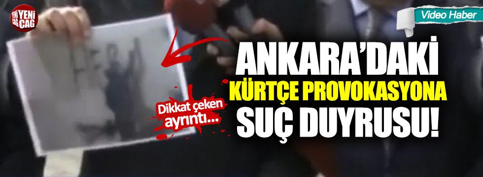 """Kürtçe provokasyona suç duyurusu: """"O yazıyı yazan kişi Gökçek ile çalıştı"""""""