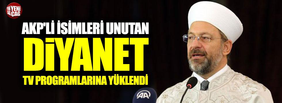 AKP'lileri unutan Ali Erbaş TV programlarına yüklendi