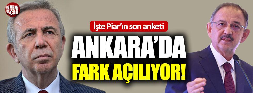 """Ankara için son anket sonucu: """"Mansur Yavaş farkı açıyor"""""""