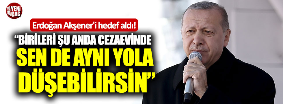 Erdoğan, Meral Akşener'i hedef aldı