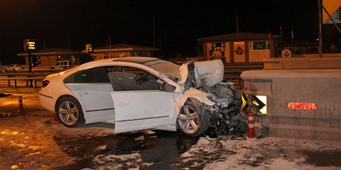 Niğde'de korkunç kaza: 2 ölü, 1 yaralı