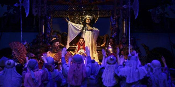 Turandot operasının Ankara prömiyeri yapıldı