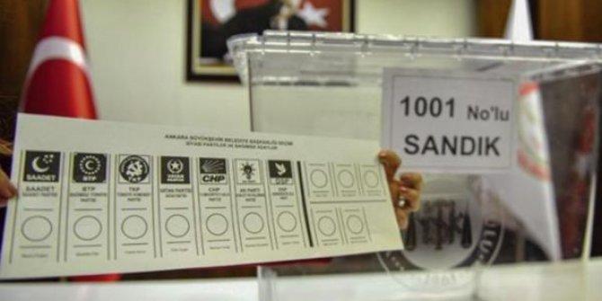 Oy pusulalarını PTT taşıyacak