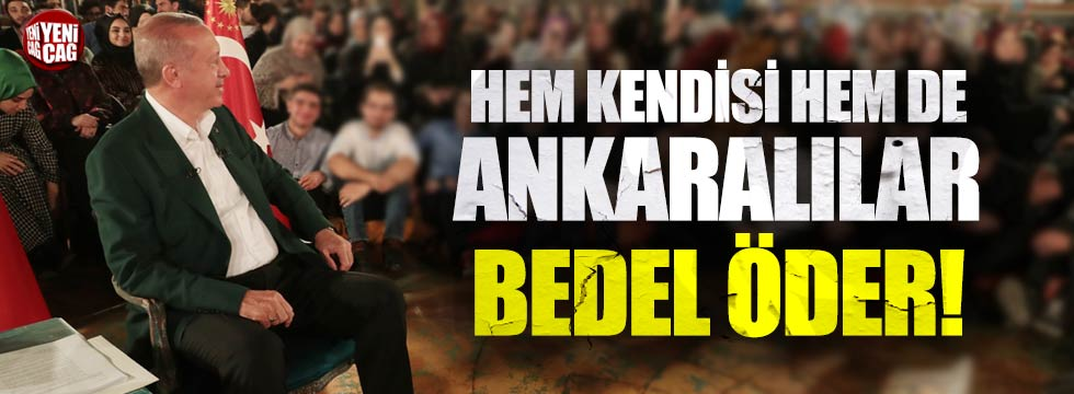 Cumhurbaşkanı Erdoğan, Mansur Yavaş'ı hedef aldı!