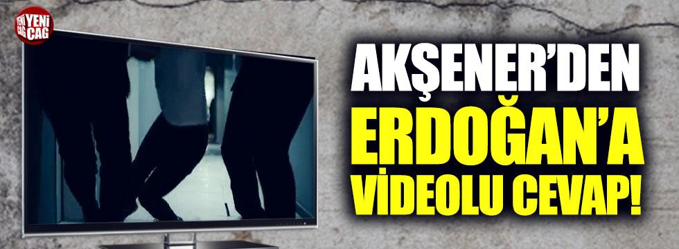 Akşener'den Erdoğan'a videolu cevap