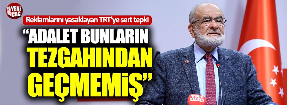 Karamollaoğlu'ndan reklamlarını yasaklayan TRT'ye sert tepki!