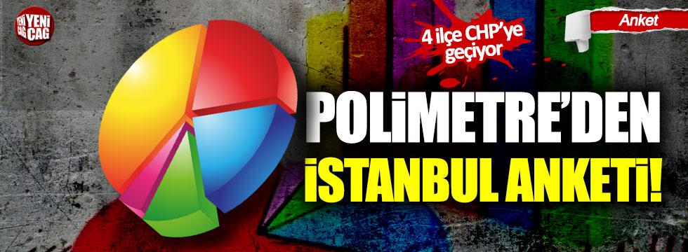 Polimetre'den İstanbul için son seçim anketi! 4 ilçe CHP'ye geçiyor!