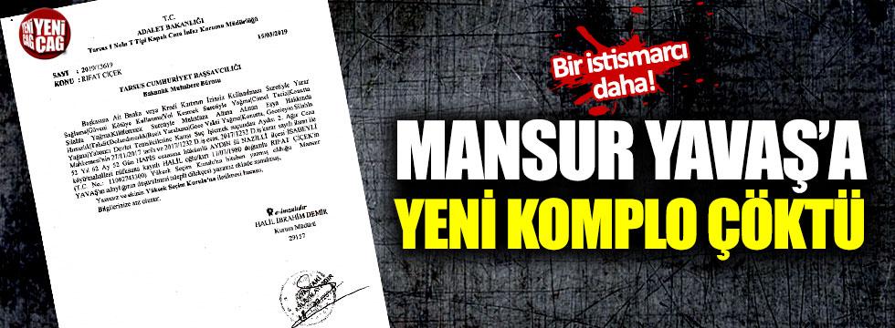Mansur Yavaş'a yeni komplo girişimi çöktü!