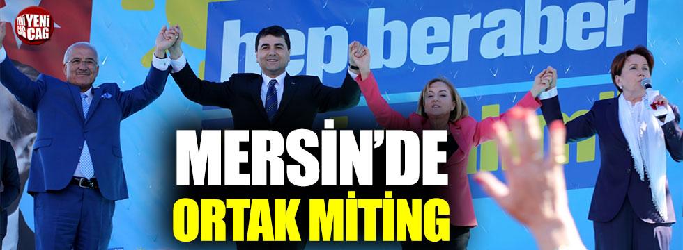 İYİ Parti ve Demokrat Parti'den ortak miting