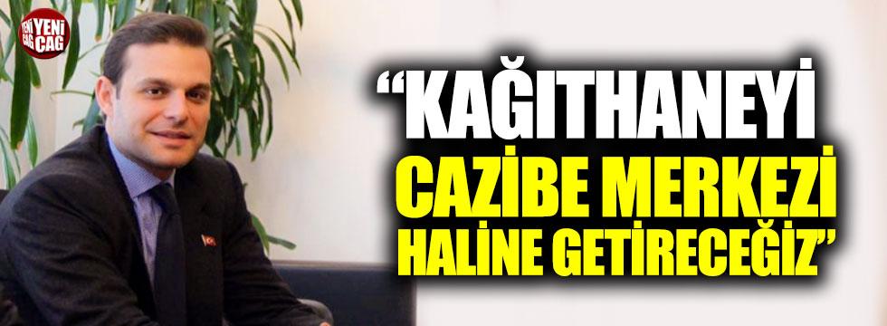 """Mehmet Aslan: """"Kağıthaneyi cazibe merkezi haline getireceğiz"""""""