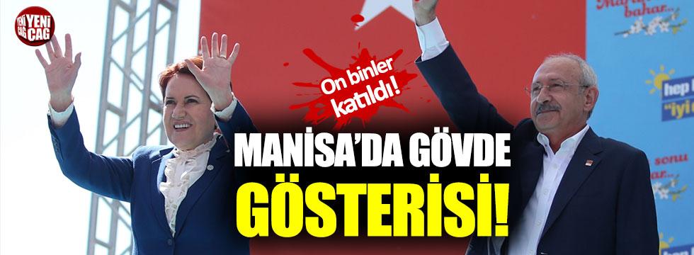 Akşener ve Kılıçdaroğlu'ndan ortak Manisa mitingi!