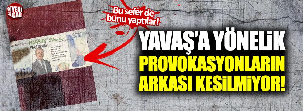 Mansur Yavaş'a yönelik provokasyonların arkası kesilmiyor!