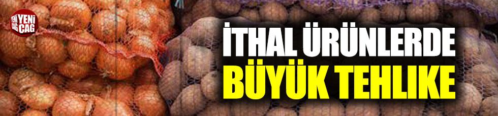 Suriye'den ithal edilen patates ve soğanda büyük tehlike!