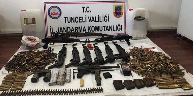 Tunceli'de teröristlere ağır darbe!